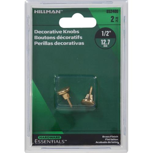 Hardware Essentials Mini Knobs 1/2