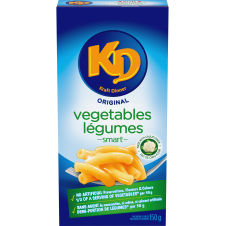 Kraft Dinner Vegetables Original Macaroni & Cheese