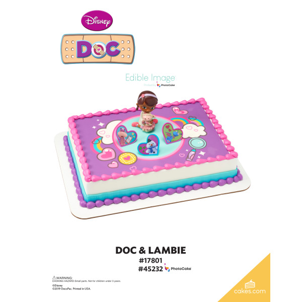 Doc McStuffins Doc and Lambie DecoSet® The Magic of Cakes® Page