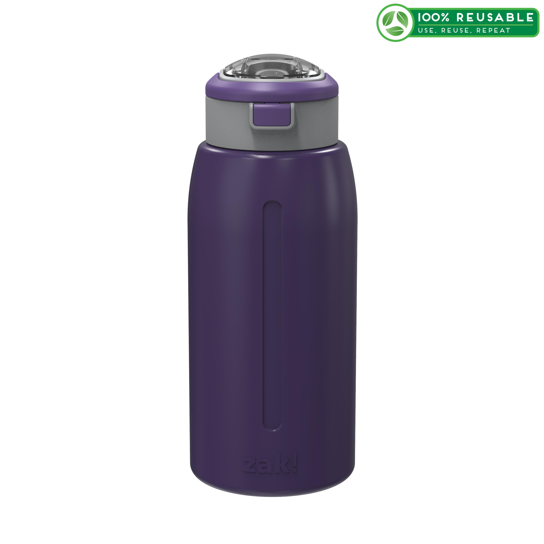 Genesis 32 ounce Stainless Steel Water Bottles, Viola slideshow image 1