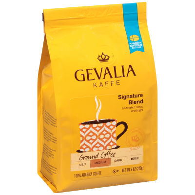Gevalia Signature Blend Regular Ground Coffee 8 oz Bag