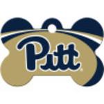 Pittsburgh Panthers Large Bone Quick-Tag