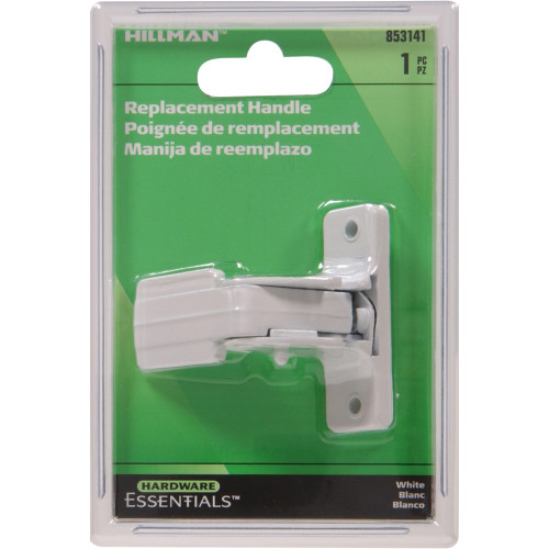 White Replacement Handles for Pushbutton Latch
