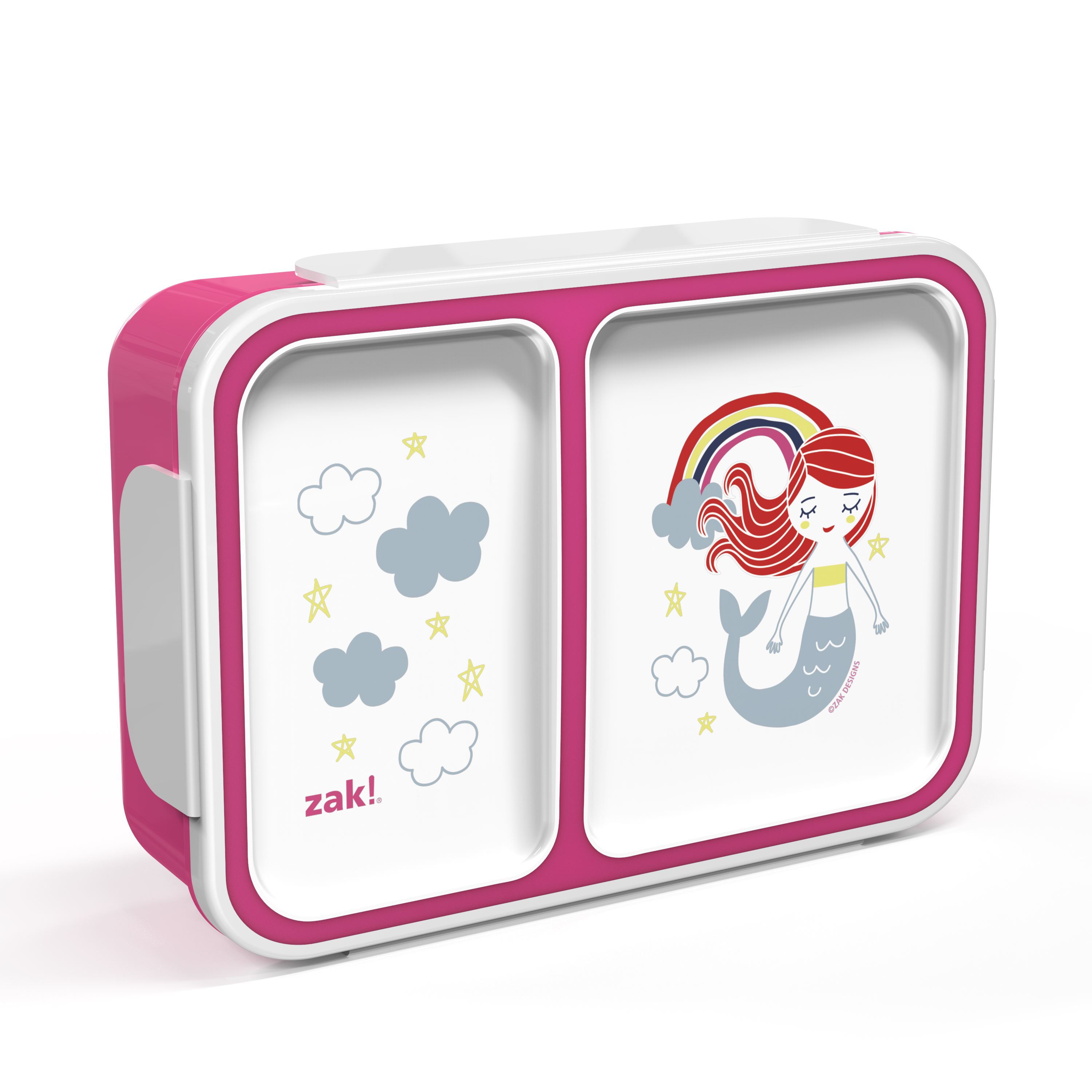 Happy Things Dual-compartment Reusable Bento Box, Mermaids slideshow image 4
