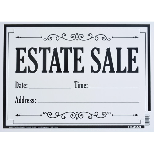 Estate Sale Sign (10