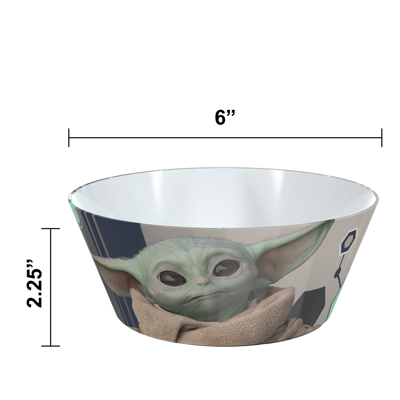 Star Wars: The Mandalorian Kids Dinnerware Set, The Child, 2-piece set slideshow image 5