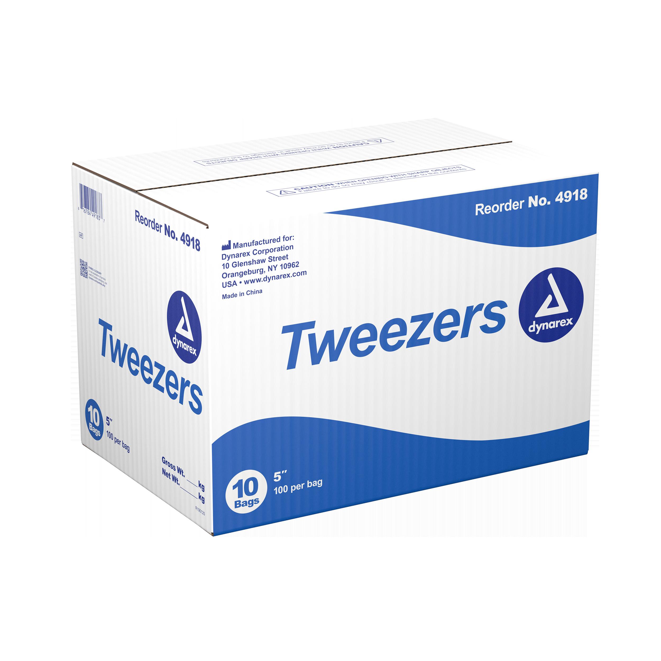Plastic Tweezers - Individually Wrapped - 4.25