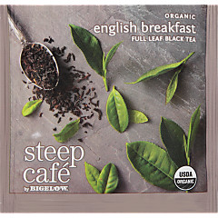 steep Café Organic English Breakfast - Box of 50 pyramid tea bags