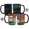 Little Monsters 15 ounce Coffee Mug and Spoon, Frankenstein and Friends slideshow image 3