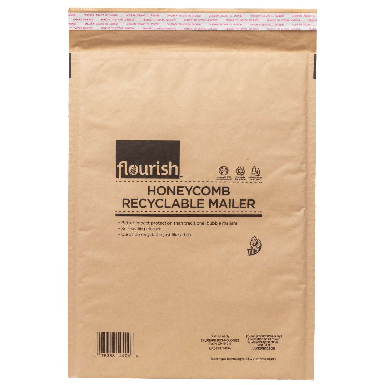 Flourish™ Honeycomb Recyclable Mailer