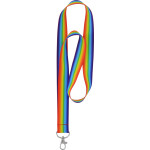Rainbow Neck Lanyards