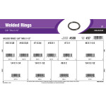 "Welded Rings Assortment (5/8"" Thru 2-1/2"")"