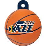Utah Jazz Large Circle Quick-Tag