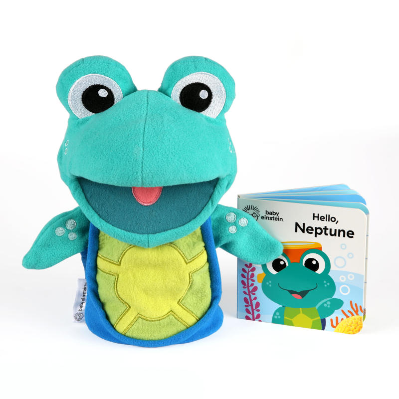 Storytime with Neptune™ Puppet & Book