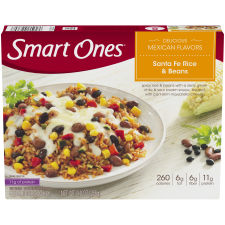 Smart Ones Delicious Mexican Flavors Santa Fe Rice & Beans 9 oz Box