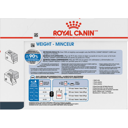 Royal Canin Feline Care Nutrition Weight Care Pouch Cat Food