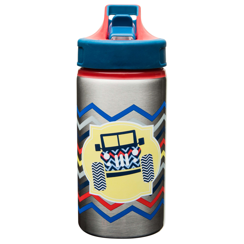 Toddlerific 15.5 ounce Water Bottle, 4x4 Trucks slideshow image 1