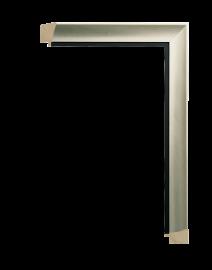 Intaglio Silver w/Black 1 1/4