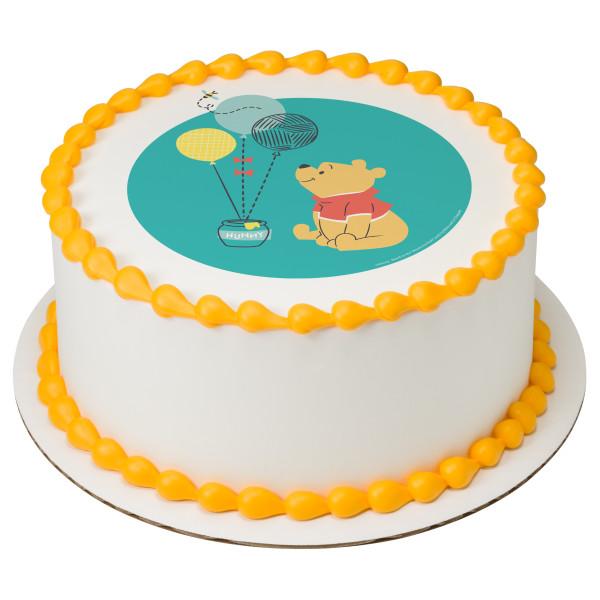 Disney Baby Winnie the Pooh 1st Birthday PhotoCake® Edible Image®