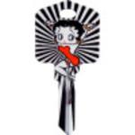 Betty Boop Glitter Key Blank