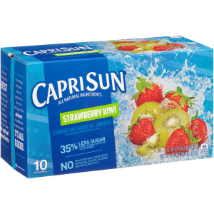 CAPRI SUN Strawberry Juice Pouch, 6 oz. Pouches (Pack of 40) image
