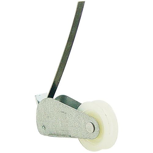 Single-Wheel Nylon Roller w/ J-Shape Spring
