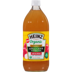 Heinz Apple Cider Organic Vinegar, 6 - 32 fl oz Bottles image