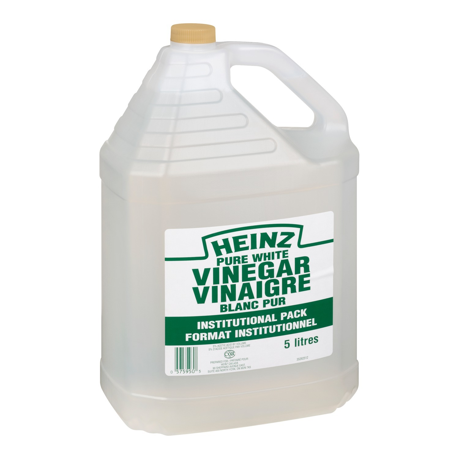 HEINZ Pure White Vinegar 5L 2