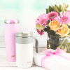 Aberdeen 30 ounce Vacuum Insulated Stainless Steel Tumbler, Lilac slideshow image 6