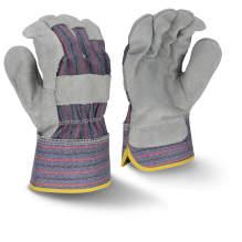 Bellingham C3200 Regular Shoulder Gray Split Cowhide Leather Glove