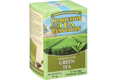 Wadmalaw Green Tea Pyramid Tea - Case of 6 boxes- total of 72 teabags