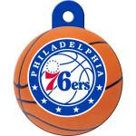 Philadelphia 76ers Large Circle Quick-Tag