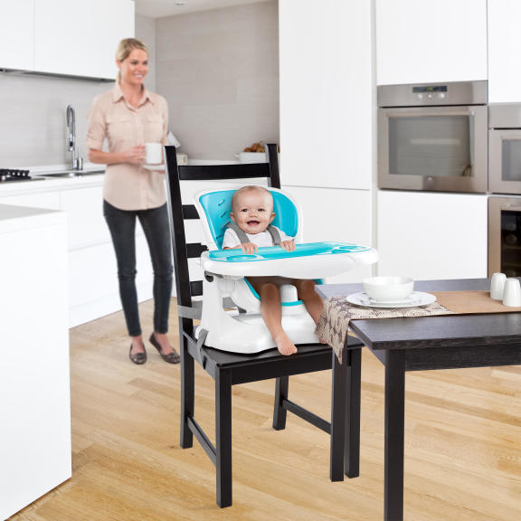 SmartClean ChairMate High Chair™ - Aqua