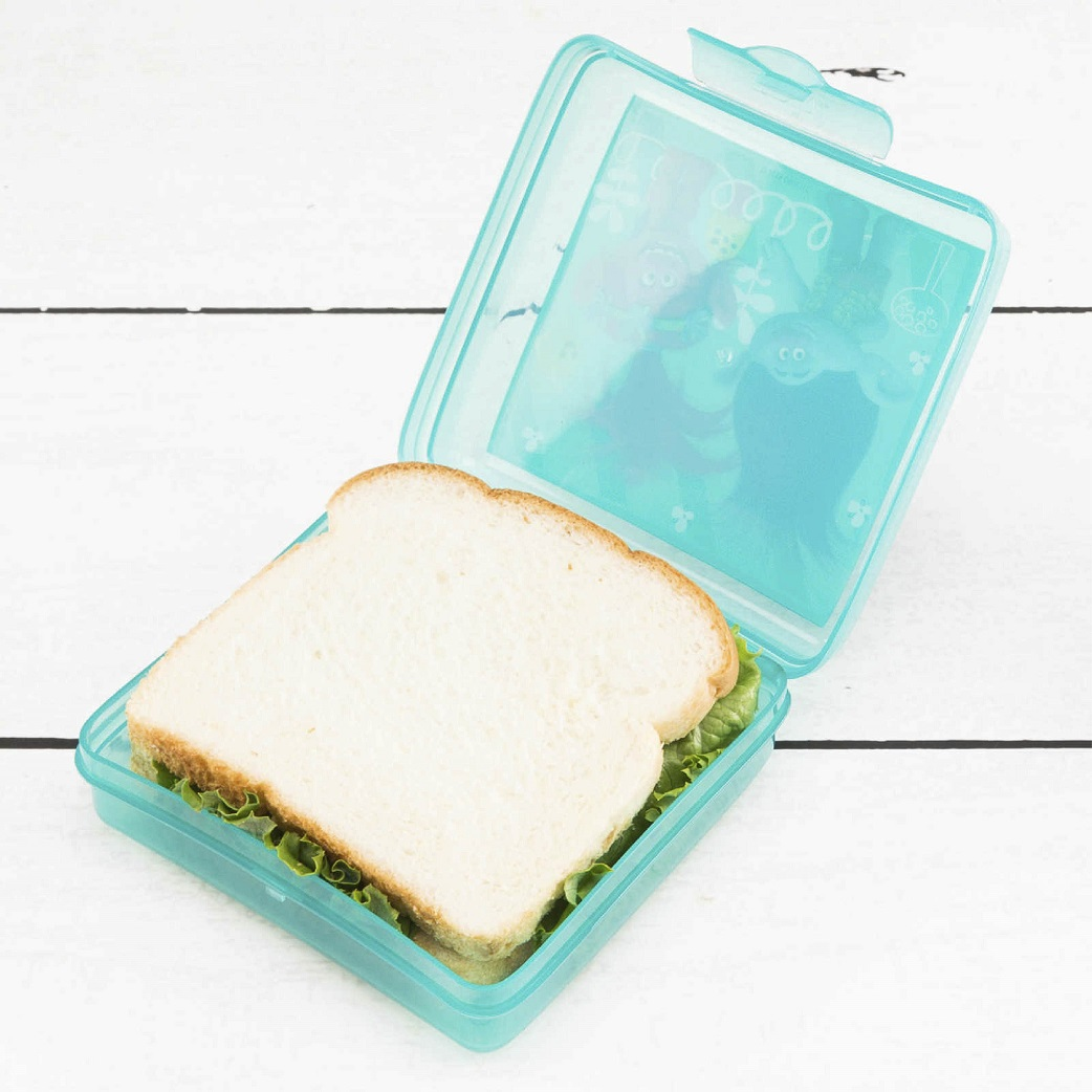 Trolls Movie Kid's Water Bottle and Sandwich Container Lunch Set, Poppy and Friends, 2-piece set slideshow image 6
