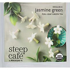 steep Café Organic Jasmine Green Tea - Box of 50 pyramid tea bags