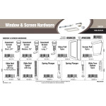Window & Screen Hardware Assortment