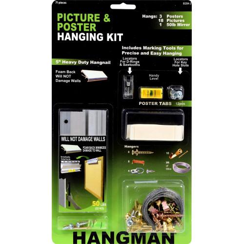 Hillman Hangman Poster Hanging Kit