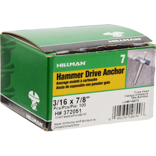 Hammer Drive Anchor 3/16
