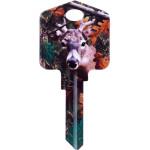 Deep Woods- Buck Blank Key