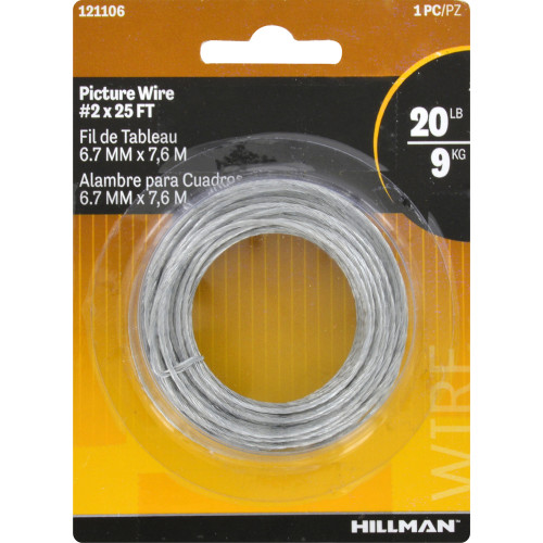 Hillman Picture Hanging Wire #2 x 25'
