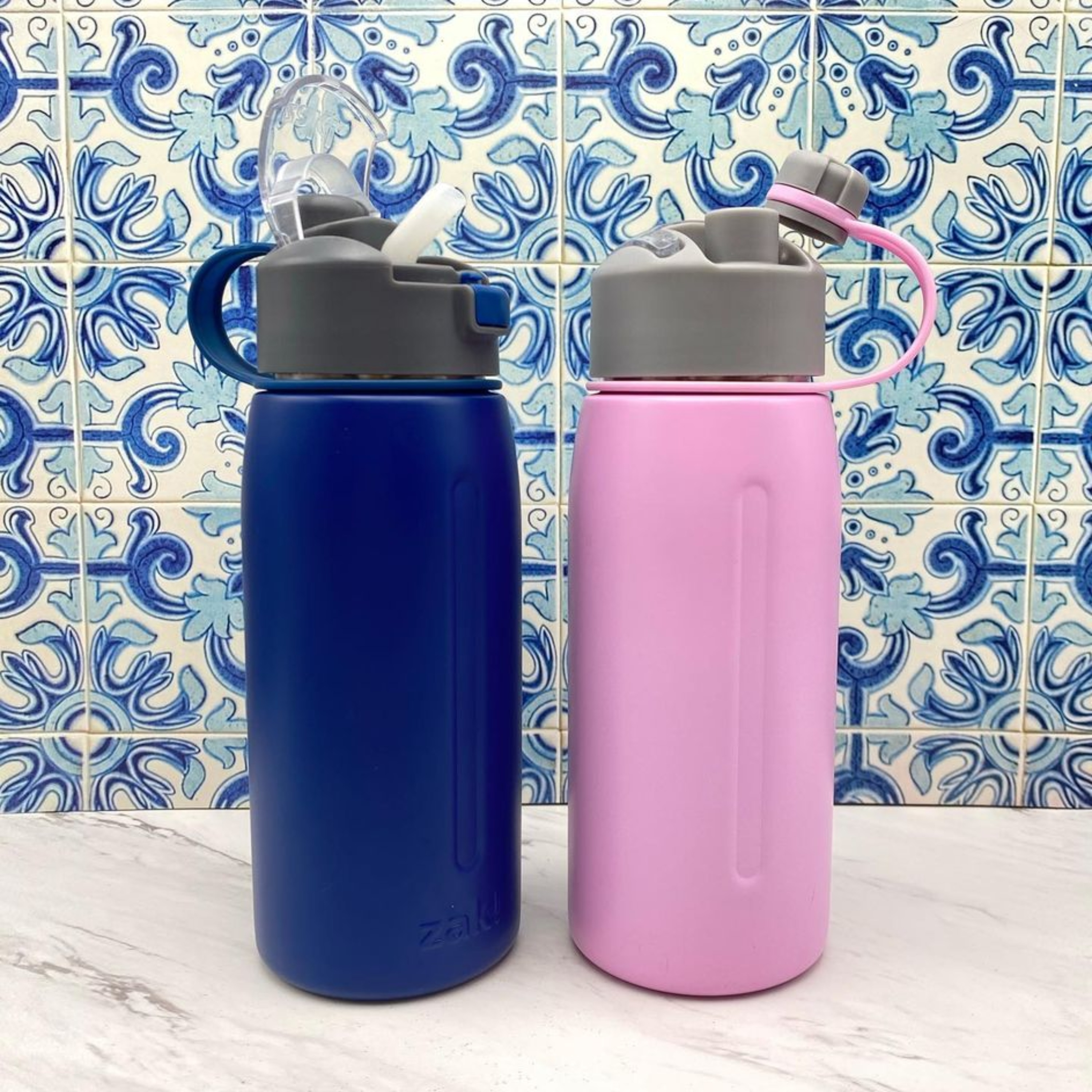 Genesis 24 ounce Vacuum Insulated Stainless Steel Tumbler, Lilac slideshow image 11