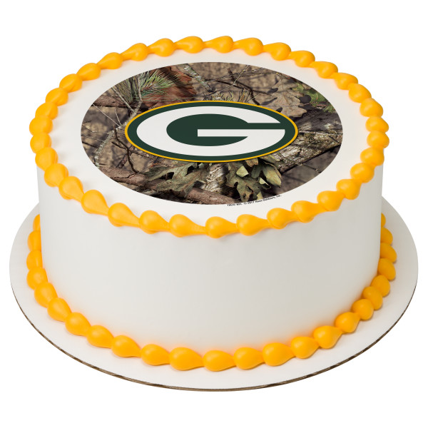 NFL Green Bay Packers Mossy Oak® PhotoCake® Edible Image®