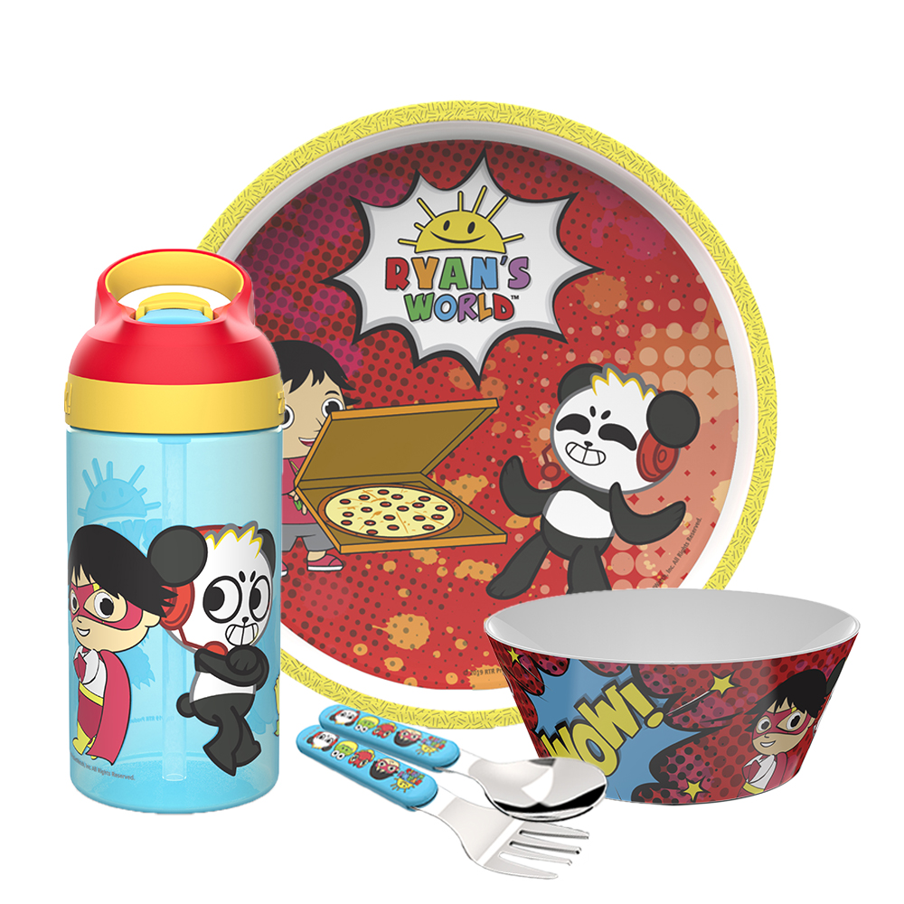 Ryan's World Dinnerware Set, Ryan & Friends, 5-piece set image