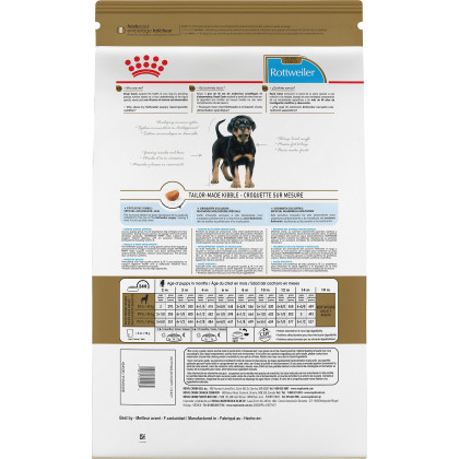 Royal Canin Breed Health Nutrition Rottweiler Puppy Dry Dog Food