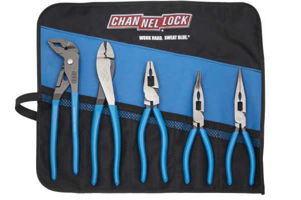 TOOL ROLL-54 5pc Elite Pro Pliers Set with Tool Roll