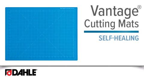Dahle Vantage® Self-Healing Cutting Mat-Blue Video