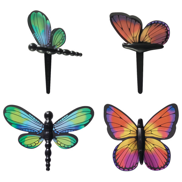 Dragonfly and Butterfly DecoPics®