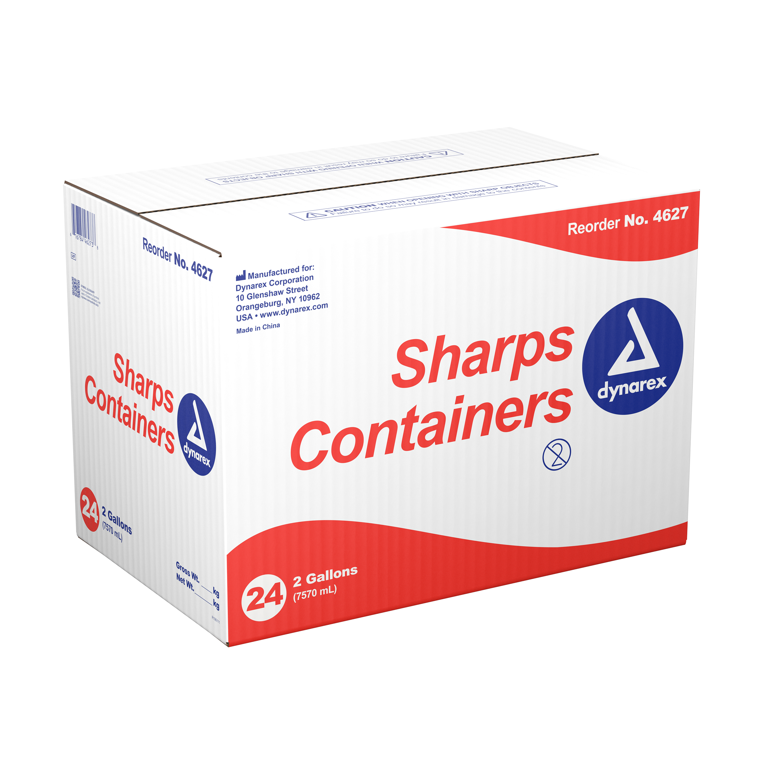 Sharps Containers - 2gal. - 24/Cs