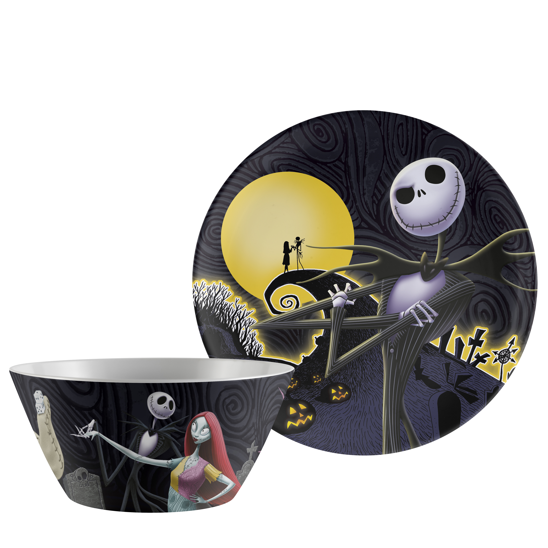 Disney Dinnerware Set, The Nightmare Before Christmas, 2-piece set image