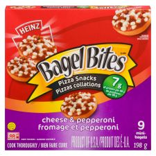 Bagel Bites Cheese & Pepperoni Frozen Pizza Snack